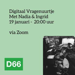 Digitaal Vragenuurtje, 19 januari